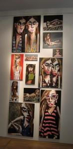 Ponamareva Ausstellung