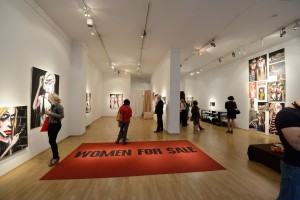"Ausstellung ""Women for Sale"" - Vernissage"