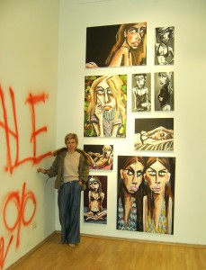 Tatiana Ponamareva mit Ihren Bilder